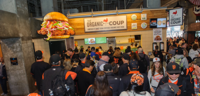 The Organic Coup SF Giants