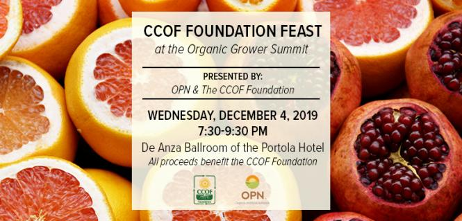 CCOF Foundation Feast