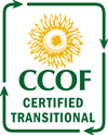CCOF Certified Transitional Logo