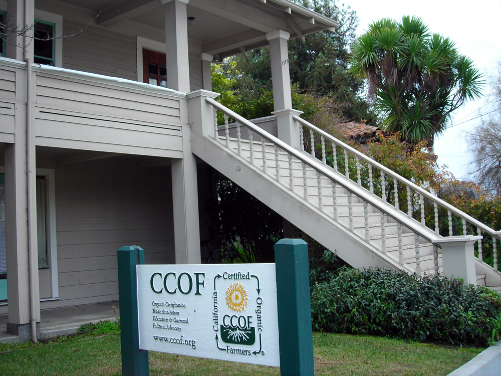 CCOF Office on Mission St.