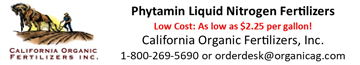 California Organic Fertilizers