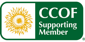 CCOF Supporting Member Logo