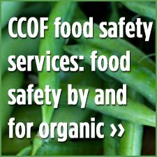 CCOF Food Safety