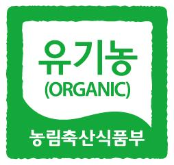 Korean Organic Logo