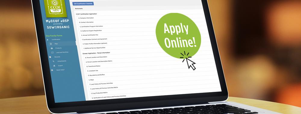 MyCCOF eOSP - Apply Online